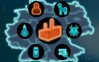 Aktuelle KMU Studie*: Angst vor Cyberangriffen wächst weiter.