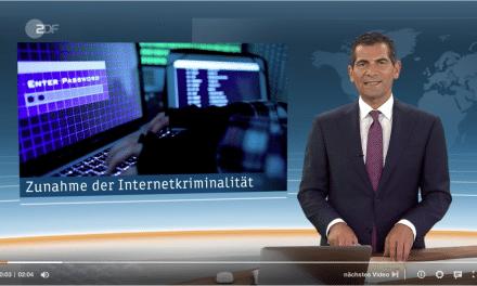 Nachrichtenmagazin Heute: ZDF berichtet über Zunahme der Cyberkriminalität